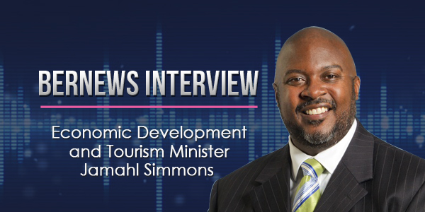 Economic-Development-and-Tourism-Minister-Jamahl-Simmons-Bernews-Podcast