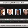 Constituency #19: Pembroke West
