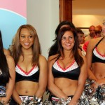 AirTran Atlanta Falcons Cheerleaders Bermuda May 26 2011-3