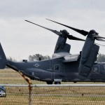 CV-22 Osprey US Air Force Aircraft  Bermuda Mar 21st 2011-1-4