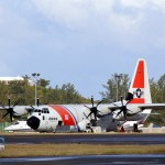 Fire Service On Scene – US Coast Guard Plane Bermuda Dec 15 2010 (1)