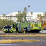 Fire Service On Scene – US Coast Guard Plane Bermuda Dec 15 2010 (3)