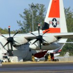 Fire Service On Scene – US Coast Guard Plane Bermuda Dec 15 2010 (4)