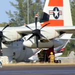 Fire Service On Scene – US Coast Guard Plane Bermuda Dec 15 2010 (5)