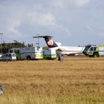 Fire Service On Scene – US Coast Guard Plane Bermuda Dec 15 2010 (7)
