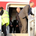 Royal Couple Arrive In Bermuda From UK  March 16 2011 (1)