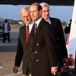 Royal Couple Arrive In Bermuda From UK  March 16 2011 (10)