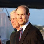 Royal Couple Arrive In Bermuda From UK  March 16 2011 (11)