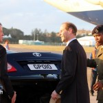 Royal Couple Arrive In Bermuda From UK  March 16 2011 (12)