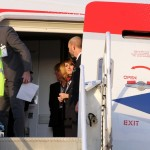 Royal Couple Arrive In Bermuda From UK  March 16 2011 (2)