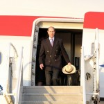Royal Couple Arrive In Bermuda From UK  March 16 2011 (4)