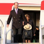 Royal Couple Arrive In Bermuda From UK  March 16 2011 (5)
