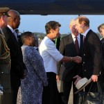 Royal Couple Arrive In Bermuda From UK  March 16 2011 (6)