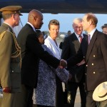 Royal Couple Arrive In Bermuda From UK  March 16 2011 (7)