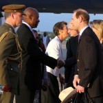 Royal Couple Arrive In Bermuda From UK  March 16 2011 (8)
