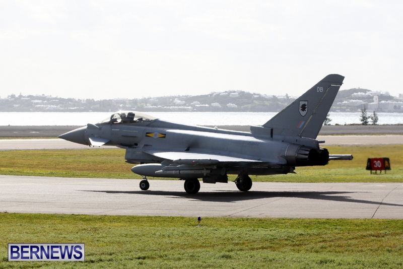 RAF Military Aircraft Jets Depart Bermuda LF Wade International Airport, January 23 2013 (11)