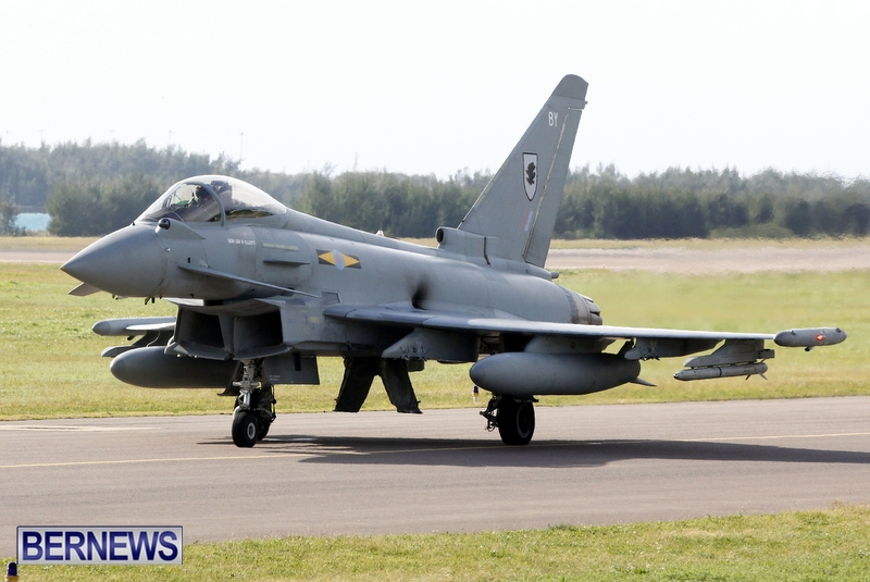 RAF Military Aircraft Jets Depart Bermuda LF Wade International Airport, January 23 2013 (12)