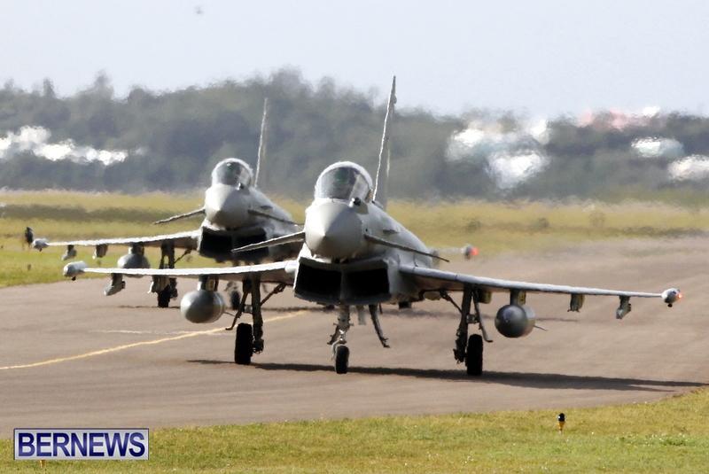 RAF Military Aircraft Jets Depart Bermuda LF Wade International Airport, January 23 2013 (15)