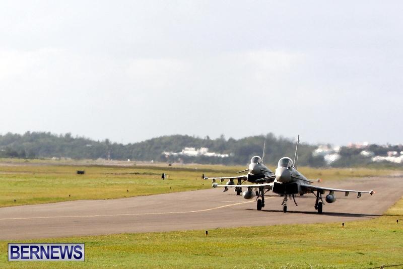 RAF Military Aircraft Jets Depart Bermuda LF Wade International Airport, January 23 2013 (16)
