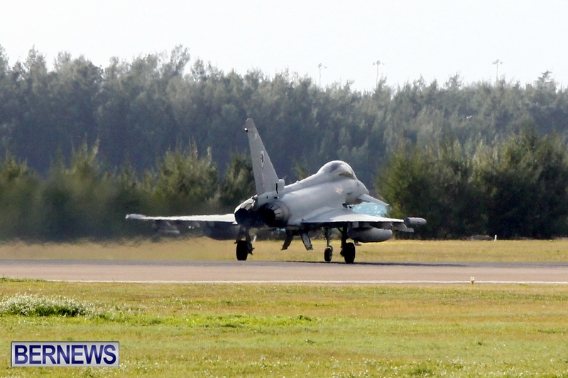 RAF Military Aircraft Jets Depart Bermuda LF Wade International Airport, January 23 2013 (18)