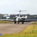 RAF Military Aircraft Jets Depart Bermuda LF Wade International Airport, January 23 2013 (2)