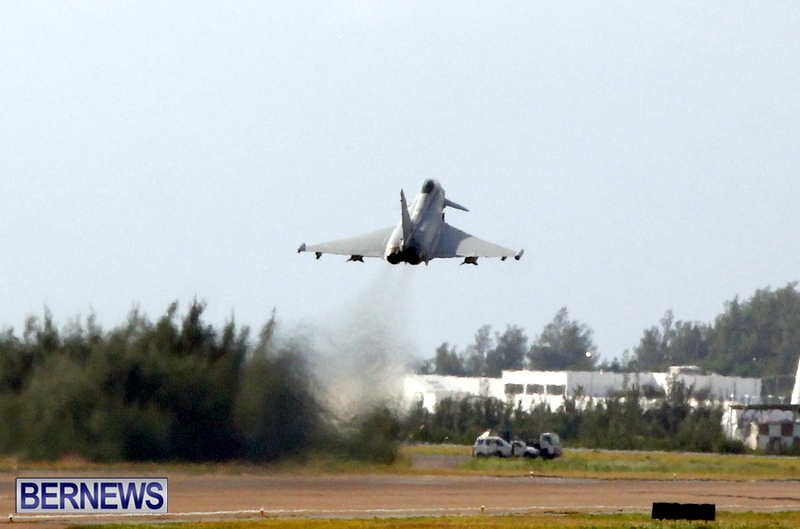 RAF Military Aircraft Jets Depart Bermuda LF Wade International Airport, January 23 2013 (20)