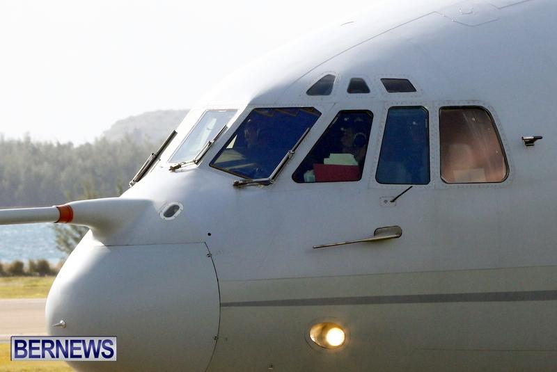 RAF Military Aircraft Jets Depart Bermuda LF Wade International Airport, January 23 2013 (5)