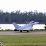 RAF Aircraft Military Jets Typhoons L1011 Landing Bermuda, April 9 2013 (11)