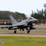 RAF Aircraft Military Jets Typhoons L1011 Landing Bermuda, April 9 2013 (13)
