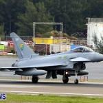 RAF Aircraft Military Jets Typhoons L1011 Landing Bermuda, April 9 2013 (14)