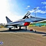 RAF Aircraft Military Jets Typhoons L1011 Landing Bermuda, April 9 2013 (25)