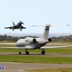 RAF Aircraft Military Jets Typhoons L1011 Landing Bermuda, April 9 2013 (4)