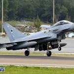 RAF Aircraft Military Jets Typhoons L1011 Landing Bermuda, April 9 2013 (7)