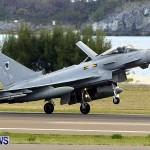 RAF Aircraft Military Jets Typhoons L1011 Landing Bermuda, April 9 2013 (8)