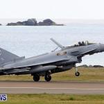 RAF Aircraft Military Jets Typhoons L1011 Landing Bermuda, April 9 2013 (9)