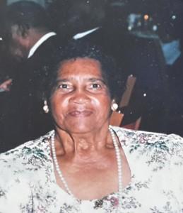 Thelma Lois Nusum Bermuda 2016