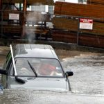 Car Flooded Market Lane Bermuda June 15 2012 (6)
