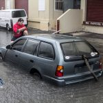 Car Flooded Market Lane Bermuda June 15 2012 (9)