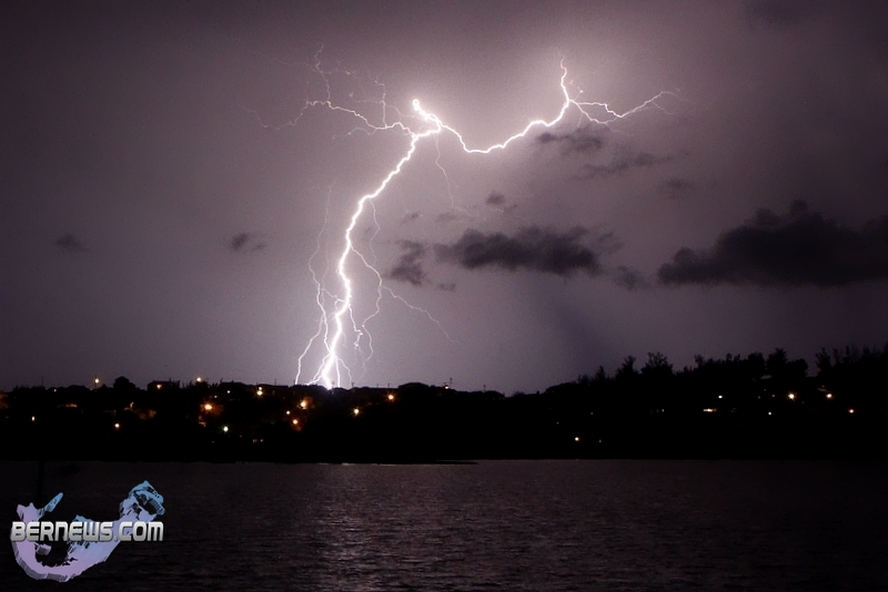 Lightning Storm Clouds Bermuda August 22 2012 24