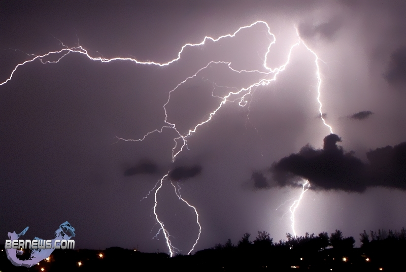 Lightning Storm Clouds Bermuda August 22 2012 34