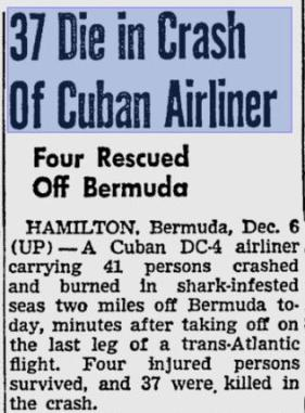 bermuda aviation disaster