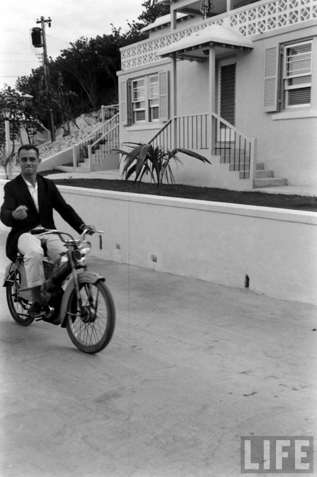 Virgil 'Gus' Grissom in Bermuda