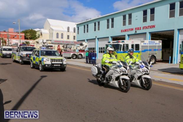 William Michael Roberts Fireman Funeral Bermuda, January 22 2016 (11)