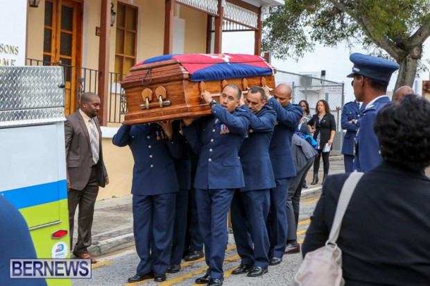 William Michael Roberts Fireman Funeral Bermuda, January 22 2016 (3)