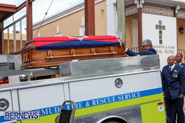 William Michael Roberts Fireman Funeral Bermuda, January 22 2016 (7)